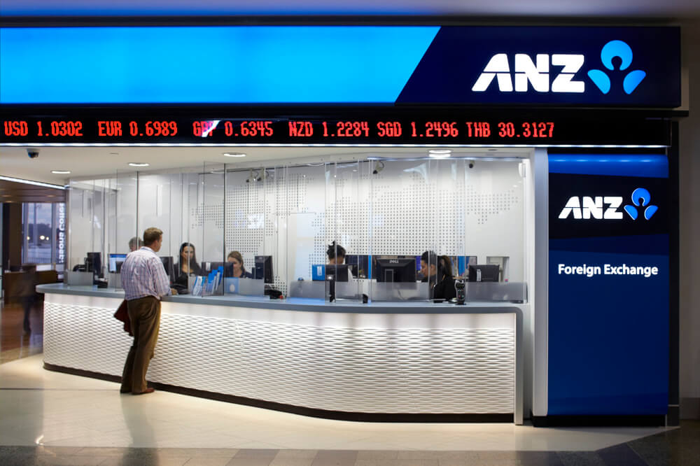 Counter security solution bank ANZ